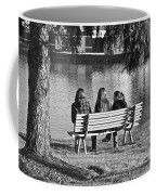 Friends In Black And White Coffee Mug