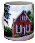 Friends Meeting House Coffee Mug by Skip Willits