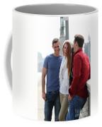 Friends Talking Coffee Mug