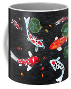 Friendship Underwater Big Commissioned Painting Coffee Mug