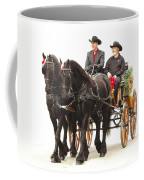 Friesian Carriage Coffee Mug