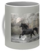 Friesian Fantasy Coffee Mug by Fran J Scott