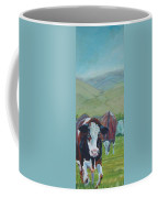 Friesian Holstein Cows Coffee Mug