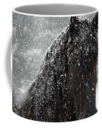 Friesian Snow Coffee Mug by Fran J Scott