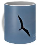 A Frigate Bird Over Costa Maya, Mexico Coffee Mug