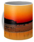 Frigid Morning Flock Coffee Mug