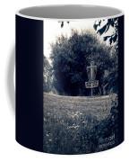 Frisbee Disc Golf Basket Coffee Mug