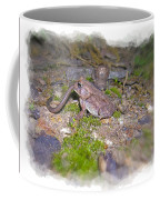 Frog Eating A Worm Coffee Mug