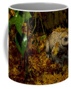Frog In The Fall Coffee Mug