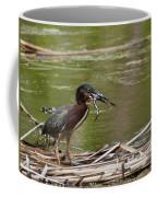 Frog Legs And Green Heron Coffee Mug
