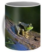 Frog On A Log Coffee Mug