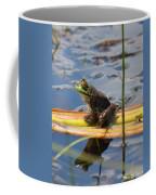 Froggy Reflections Coffee Mug