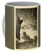 Frogs And Candle Coffee Mug
