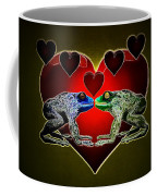 Frogs In Love Coffee Mug