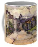 From A Hilltop In San Francisco By  Rowena Meeks Abdy Early California Artist C 1906 Coffee Mug