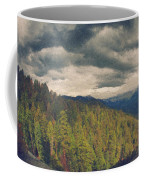 From Moro Rock Of The Sequoias Coffee Mug