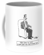 From Zero To Sixty In What Seems Like Eight Coffee Mug by Peter Steiner