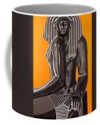 Front And Side Egyptian Pharoah Coffee Mug
