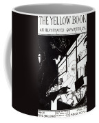 Front Cover Of The Prospectus For The Yellow Book Coffee Mug by Aubrey Beardsley