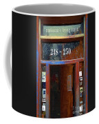 Front Door At The Cafe Nine Coffee Mug