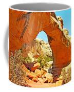 Front Of Hickman Bridge In Capitol Reef National Park-utah Coffee Mug