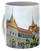 Front Of Reception Hall At Grand Palace Of Thailand In Bangkok Coffee Mug