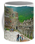 Front Of Theater In Ephesus-turkey Coffee Mug