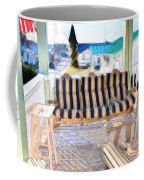 Front Porch On An Old Country House  3 Coffee Mug