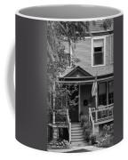 Front Porch Usa Black And White Coffee Mug