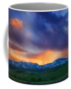 Front Range Light Show Coffee Mug by Darren  White