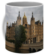 Front View Of Palace Schwerin Coffee Mug