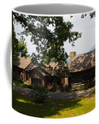Front View Of The Cabin Coffee Mug by Robert Margetts