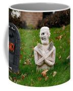 Front Yard Halloween Graveyard Coffee Mug