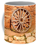 Frontier Wagon Wheel Coffee Mug