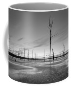 Frost Bite Bw Coffee Mug