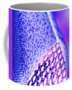 Frost Crystals Abstract Coffee Mug