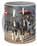Frost Fair Horses Hastings Coffee Mug