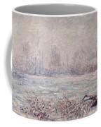 Frost Near Vetheuil Coffee Mug by Claude Monet