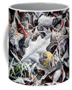 Frost On Leaves 1 Coffee Mug