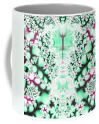 Frost On The Grass Fractal Coffee Mug