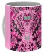 Frost On The Roses Fractal Coffee Mug