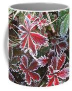 Frost On Wild Strawberry Coffee Mug