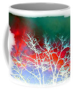 Frost Shrouded Tree Coffee Mug