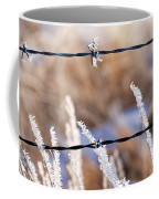 Frosted Fence Line Coffee Mug