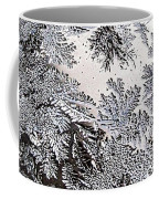 Frosted Glass Abstract Coffee Mug
