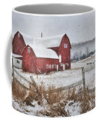 Frosted Hay Bales Coffee Mug