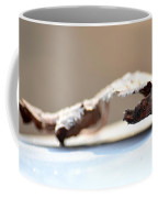 Frosted Leaf Abstract Coffee Mug