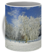 Frosted Trees - Newton Road Park Coffee Mug