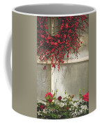 Frosted Windowpane Coffee Mug