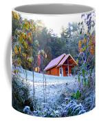Frosty Cabin Coffee Mug